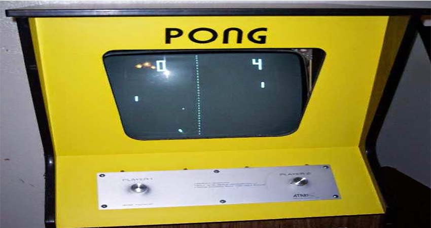 Pong, One of the Oldest Arcade Games ever Created